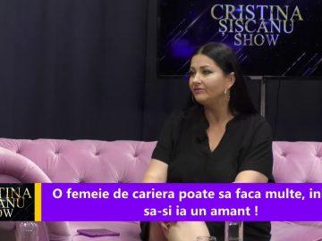 Cristina Siscanu Show – Șoc, șoc, șoc! Gabriela Cristea intră în politică?